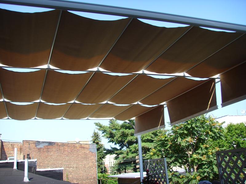 Second Floor Balcony Shade Tree Canopy System